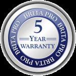 Brita Pro 5 Year Warranty Icon