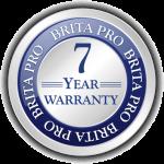 Brita Pro 7 Year Warranty Icon